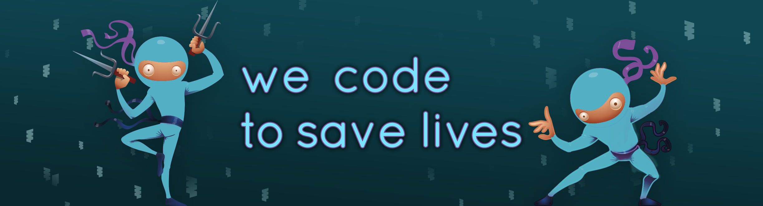 we code to save lives