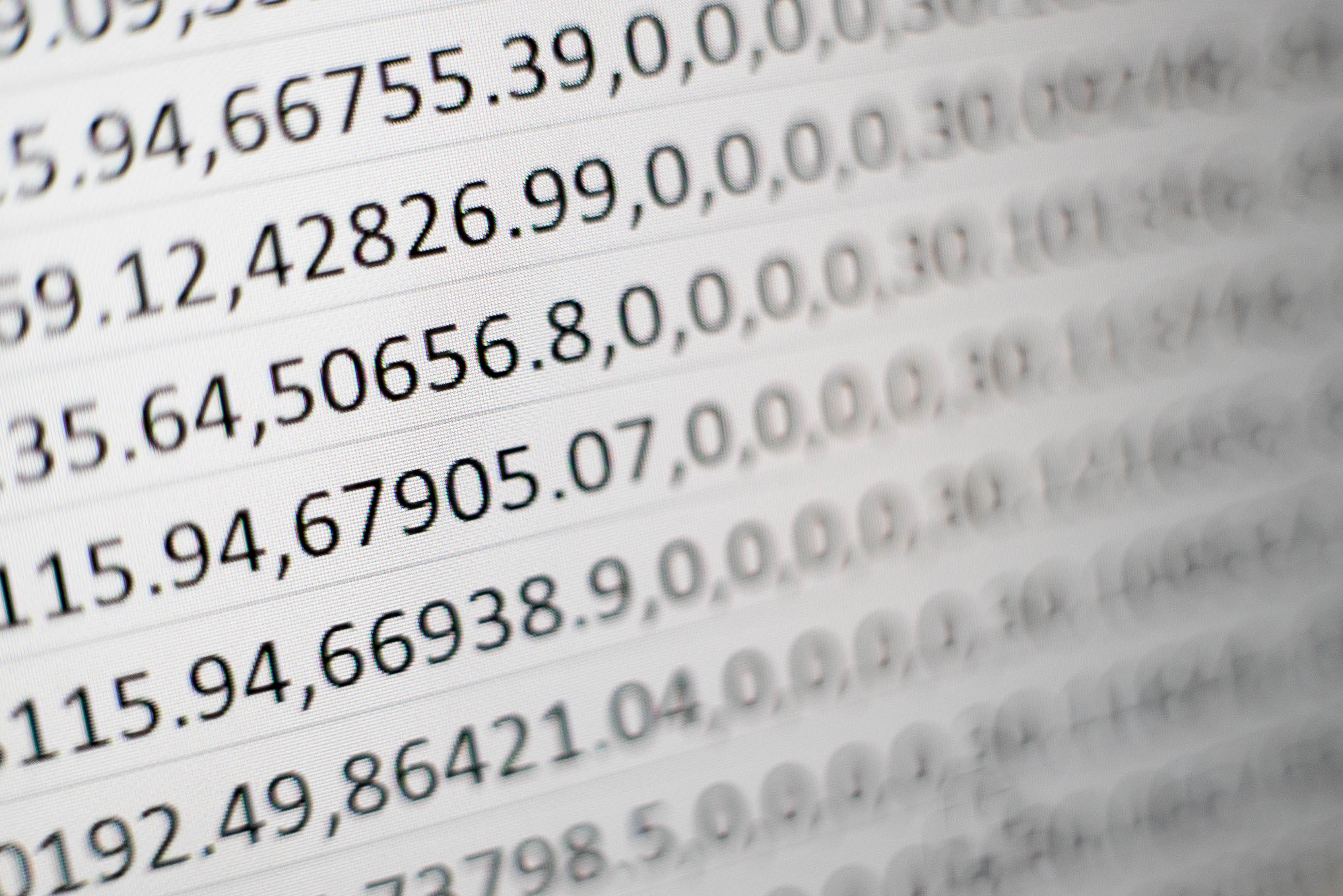 abstraction of numbers