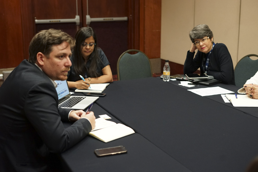 Meetings at TechEmerge Brazil